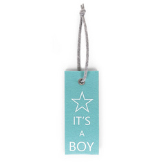 Felt doorhanger IT'S A BOY