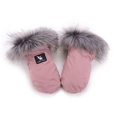 Handmuff Cottonmoose - Powder Pink