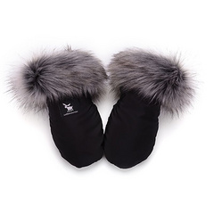 Handmuff Cottonmoose - Black Silver