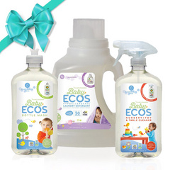 ECOS gift set cleanser - baby friendly