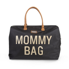 Mommy Bag Big Black Gold