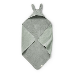 Hooded Towel Mineral Green - Elodie Details