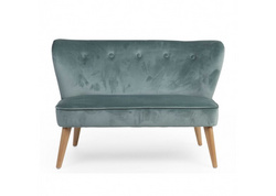 Double sofa Childhome - Green Velvet