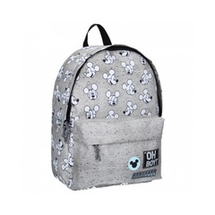 My Little Bag® Backpack Mickey Mouse Go For It! Grey