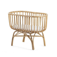Childhome rattan cradle + matress