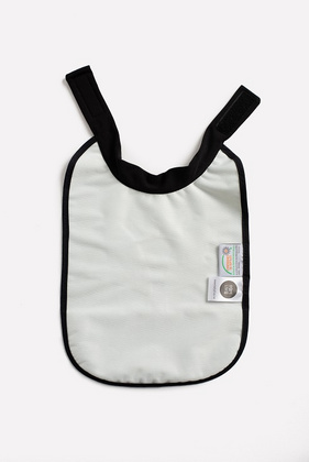 High neck bib Baby Livia