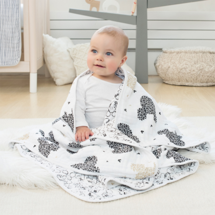 Aden+Anais® dream blanket Disney Mickey's 90th 120×120
