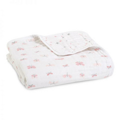Aden+Anais® dream blanket Lovely Reverie Butterflies 120×120