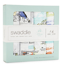 Aden+Anais® Disney Winnie The Pooh swaddle set 4-pack 120x120