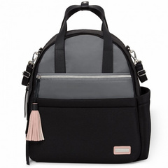 Skip Hop Nolita Neo Backpack- Grey/Black