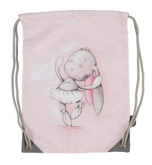 Effiki Kids Gym bag Dancing Ballerina