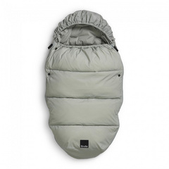 Light Down Footmuff Elodie - Mineral Green