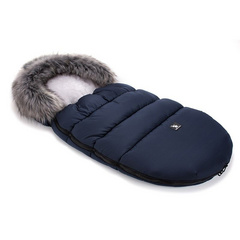 CottonMoose Footmuff - Dark Blue