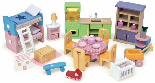 Le Toy Van - Doll House Starter Furniture Set