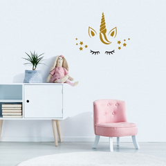 Wall Sticker Unicorn with stars
