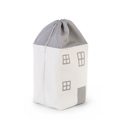 Childhome Toy Bag House Grey