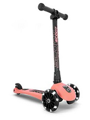 Scoot and Ride Highwaykick 3 LED - Peach
