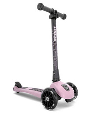 Scoot and Ride Highwaykick 3 LED - Rosa