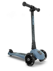 Scoot and Ride Highwaykick 3 LED - Steel