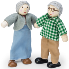 Le Toy Van Grandparent Dolls