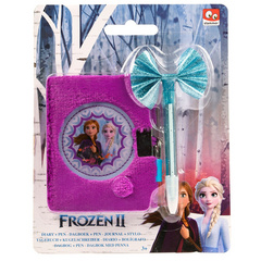 Disney Frozen 2 Diary Plush with Pen