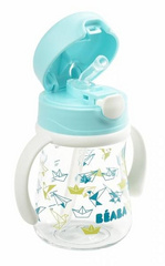 Beaba Straw cup 240ml - Light Blue