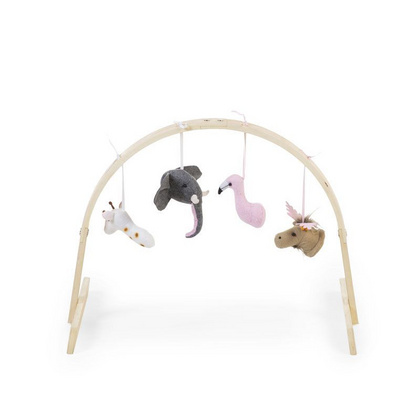 Childhome Baby Gym universal round natural