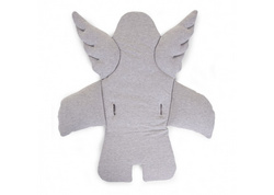 Childhome Angel universal seat cushion - jersey Grey