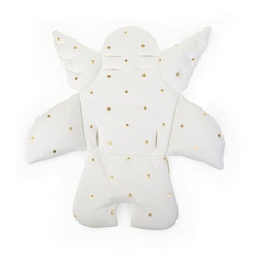 Childhome Angel universal seat cushion - jersey Gold Dots