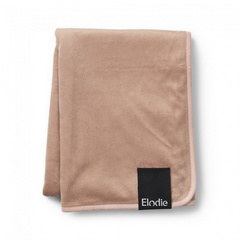 Pearl Velvet Blanket Elodie Faded Rose