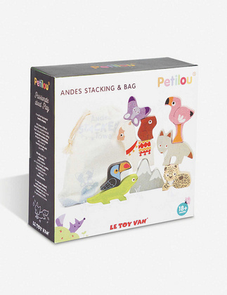 Le Toy Van – Petilou Andes Stacker Tower & Bag