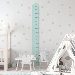 Wall stickers Yokodesign® - Height Measurement pink or blue