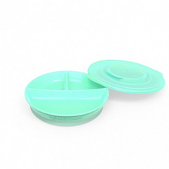 Twistshake® divided plate Green