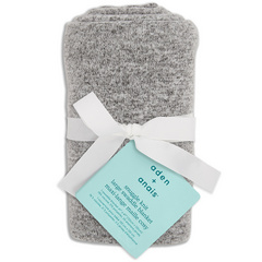 Aden+Anais® Snuggle Knit Blanket - Heather Grey