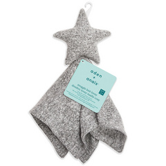 Aden+Anais® Snuggle Knit Star - Heather Grey
