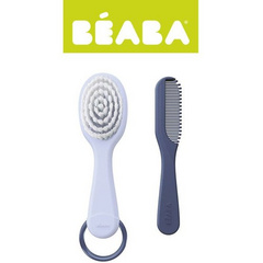 Baby brush and comb - mineral
