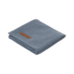 Swaddle Little Dutch 120x120 Pure Blue