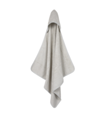 Hooded towel Little Dutch - Pure Grey
