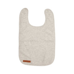 Bib Little Dutch - Pure Grey