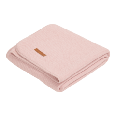 Cot Summer Blanket Little Dutch - Pure Pink