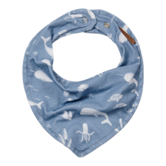Bandana bib Little Dutch - Ocean Blue