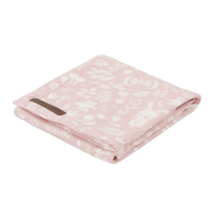 Swaddle Little Dutch 120x120 Adventure Pink