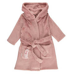 Baby bathrobe Little Dutch - Ocean Pink