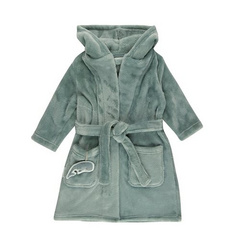 Baby bathrobe Little Dutch - Ocean Mint