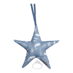 Star-shaped Little Dutch music box - Ocean Blue