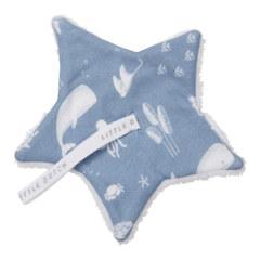 Pacifier cloth Little Dutch - Ocean Blue