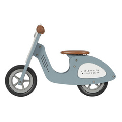 Wooden Scooter Little Dutch - Blue