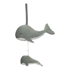 Music box Whale Little Dutch - Ocean Mint