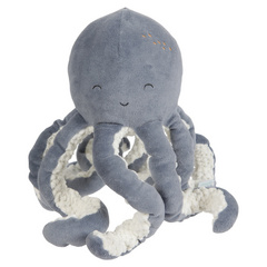 Cuddly toy Octopus Little Dutch - Ocean Blue