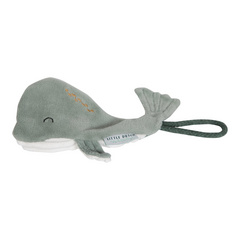 Pacifier clip Whale Little Dutch - Ocean Mint